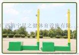 實用的羽毛球架簡易折疊便捷式標準比賽移動網柱