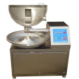 蘑菇丁斩拌机 不锈钢自动出料斩拌机