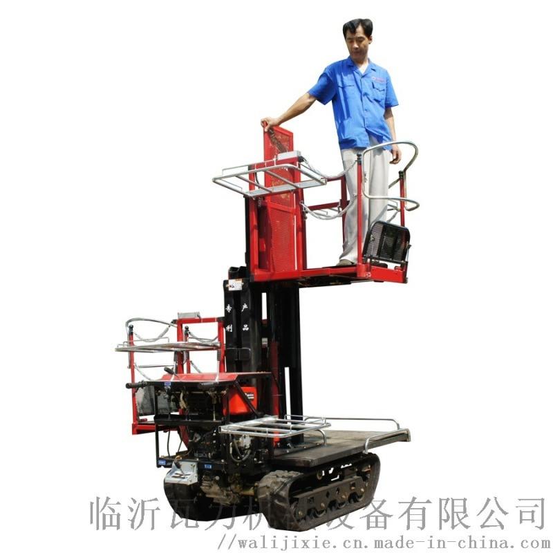 瓦力机械履带多功能汽油管理平台