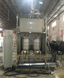 HT-S000食品啤酒桶 全自动清洗烘干线 江门恒泰研发