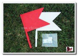 马术障碍设备红白方向锦旗flag01