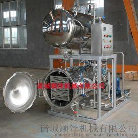 全不锈钢高温高压喷淋式鸭蛋杀菌设备 食品杀菌锅