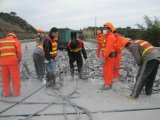 浙江宁波高速路桥面破拆设备分裂机