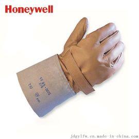 霍尼韦尔(Honeywell) 配合绝缘手套外用 皮质防护手套 高压 2012898 9码/10码