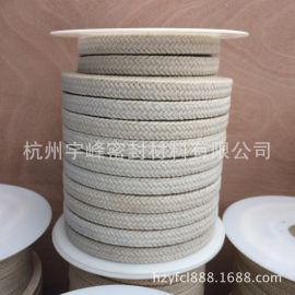 特氟龙混编苎麻纤维高水基优质密封盘根特氟龙密封件