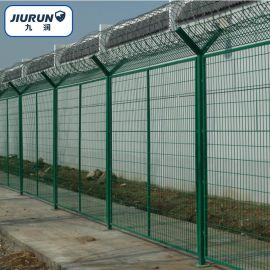 Y型柱护栏, 隔离网, 双边护栏网