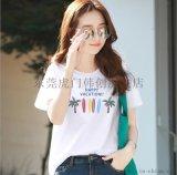 夏季热卖新款女式T恤韩款学生装短T厂家供应