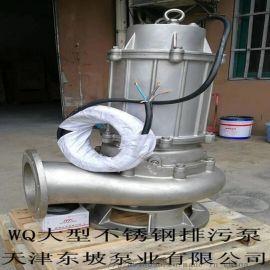 WQ污水污物潜水电泵(半不锈钢)