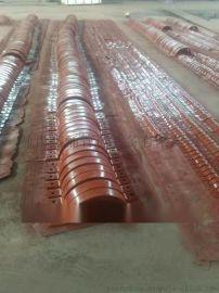 全园重型管夹 耐弯曲弹性强拉伸度强 双扁钢管夹
