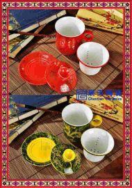 陶瓷大肚杯订做 单位订做陶瓷茶杯