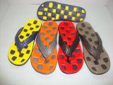 新款按摩中底人字EVA注塑男女拖鞋 (RDH M09-2015)