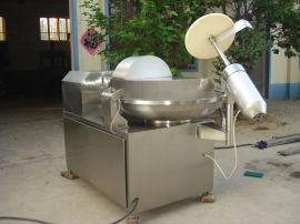 玉米粒斩拌机 双速菜肉斩拌机 变频自动出料