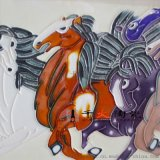 景德镇陶瓷瓷板画批发高温壁画定制