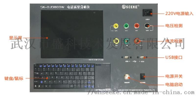 武漢盛科電能質量分析設備SK-DJ980DW型