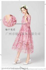 朵拉连衣裙|品牌折扣女装尾货|库存服装一手货源