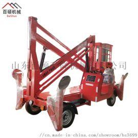 销售高空维修作业平台车载自行式曲臂式升降机
