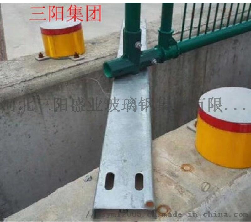 高速公路发反光柱帽 玻璃钢柱帽式轮廓标 示标厂家现货
