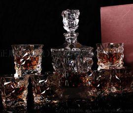 水晶玻璃白酒杯烈酒杯一口杯烧酒杯吞杯