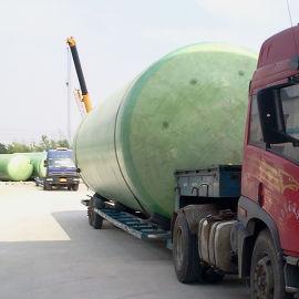 玻璃纤维罐 玻璃钢运输储罐Ⅰ型 玻璃钢储油罐化工厂