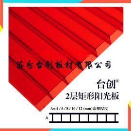 岳池县、武胜县鑫一都阳光板 三元阳光板