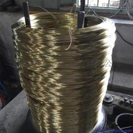 供应高强度1.1镀铜钢线 镀铜弹簧线