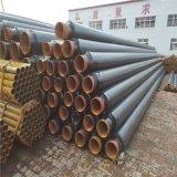 清遠 鑫龍日升 成品直埋式蒸汽保溫管道DN32/42聚氨酯預製管