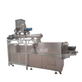 海源机械PHJ70S水产饲料设备 漂浮鱼饲料膨化机
