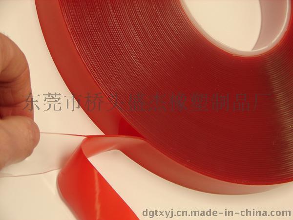 生产直销透明亚克力双面胶高粘透明亚克力胶带