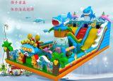 厂家直销大型儿童充气滑梯充气蹦床|充气玩具