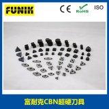 CBN刀具 聚晶立方氮化硼刀片 CBN刀片高硬度與穩熱性 富耐克廠家直銷 支持定制