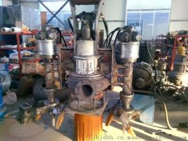 简便实用的新式挖机潜水砂浆泵-液压铰笼砂浆泵