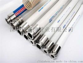 硅胶钢丝管生产厂家  卫生级钢丝增软管