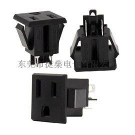 厂家DB-F-M美式插座 UL插座 嵌入式插座