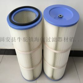 厂家直销 PTFE覆膜阻燃防油防水除尘器滤筒