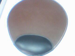 厂家定制PU鼠标垫皮垫个性无线