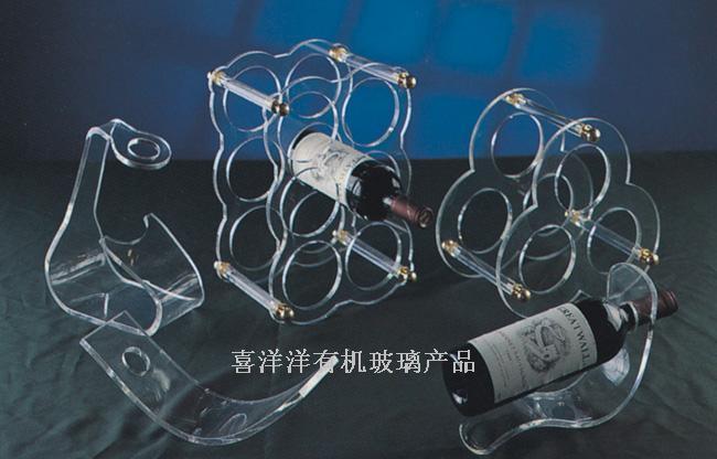 壓克力酒水架,有機玻璃酒水架