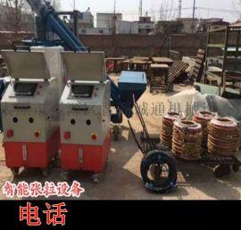 浙江金华市厂家直销预应力张拉千斤顶电动钢绞线输送机智能张拉与压浆技术