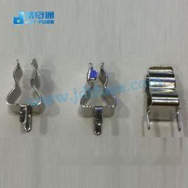 保险管5*20夹子/座子,保险丝夹5x20mm PCB捍接保险座厚度3mm