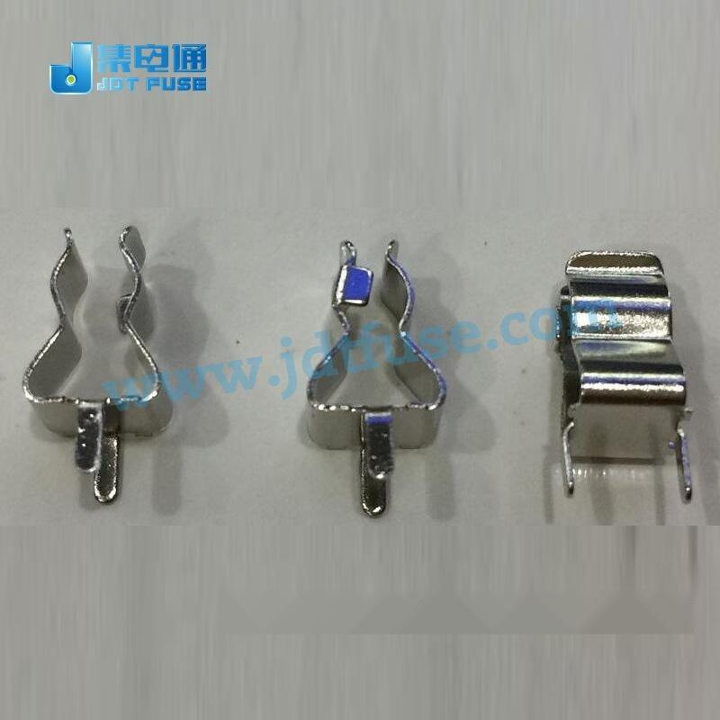 保險管5*20夾子/座子,保險絲夾5x20mm PCB捍接保險座厚度3mm