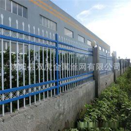 甘肃市政单位院墙围网锌钢护栏网政府小区围墙铁艺护栏