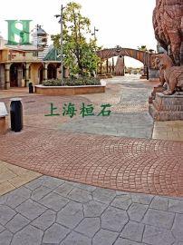 艺术地坪压模地坪压花地坪是桓石2017371具有较强的艺术性和特殊装饰要求的地面材料