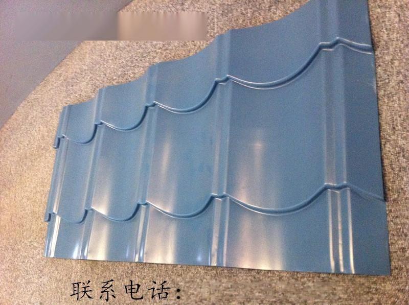 供應28-207-828型彩鋼裝飾瓦,仿古彩鋼瓦廠家就選天津勝博