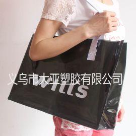 PVC礼品袋 手提袋 加厚0.5MM厚有色PVC PVC手提袋