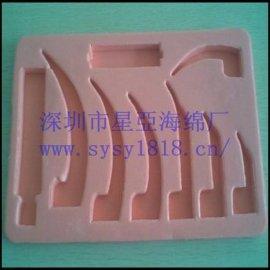 供应化妆品礼盒 包装盒 海绵植绒贴绒内衬