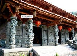 石雕龙柱,仿古石柱,古建装饰柱