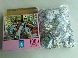 拼图厂家专业生产 1000片拼图  接受定制