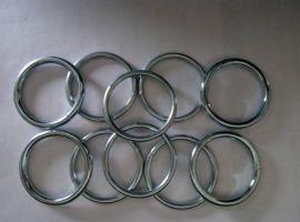煜燃金属焊接圆环,不锈钢钢圈,钢环,