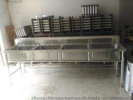 秦皇岛水槽不锈钢水槽加工 洗涤槽洗菜槽加工