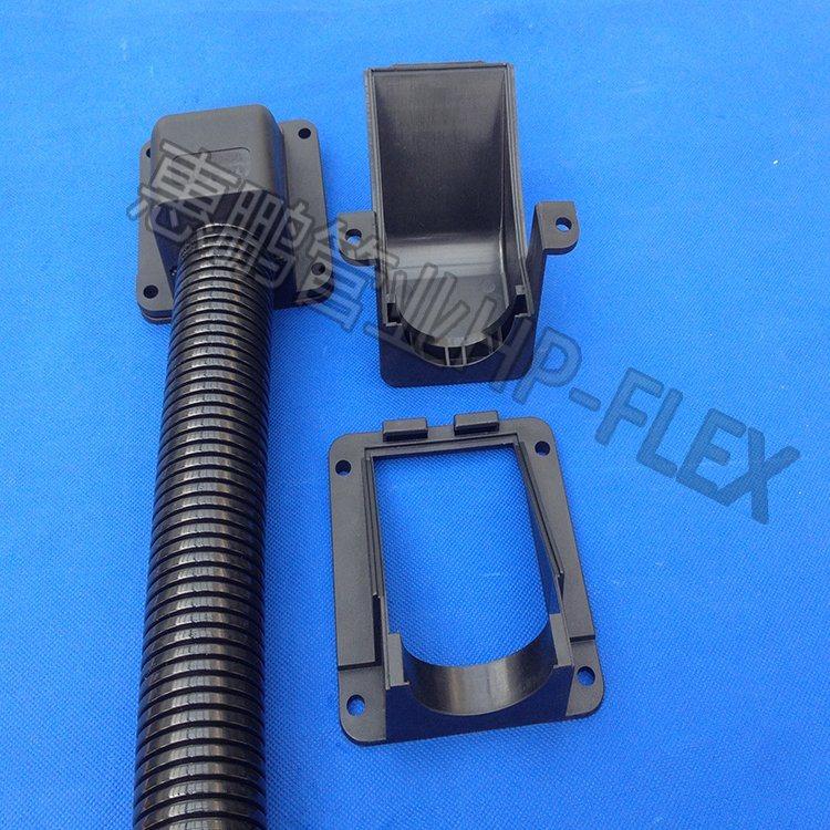 塑料波紋管法蘭式接頭 法蘭式固定座