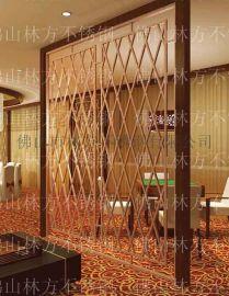 装饰屏风,不鏽鋼裝飾屏風 隔斷 各种款式屏风着色 镀铜屏风